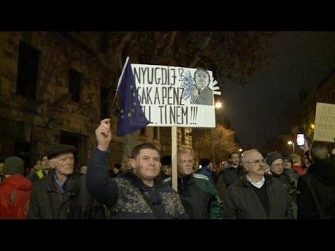 المجر: مظاهرات احتجاجية ضد إلغاء صناديق المعاشات التقاعدية الخاصة