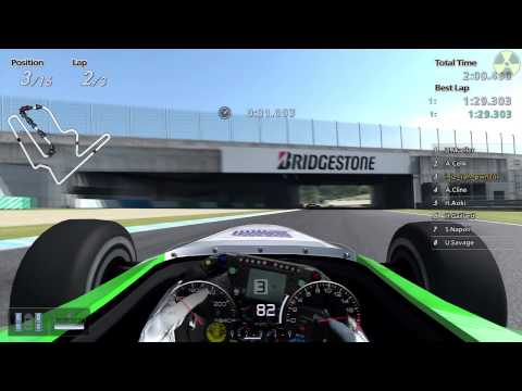 Gran Turismo 5: Twin Ring Motegi/FGT gameplay (DLC)
