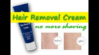 Effective Hair Removal Cream (no more shaving)