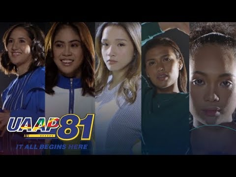 UAAP 81: SorryNotSorry with UAAP 81 Womens Volleyball Players