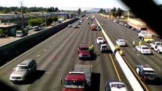 Accident freeway 101 san mateo ca