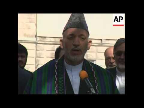 Karzai asks Saudi Arabia to help with peace talks with Taliban