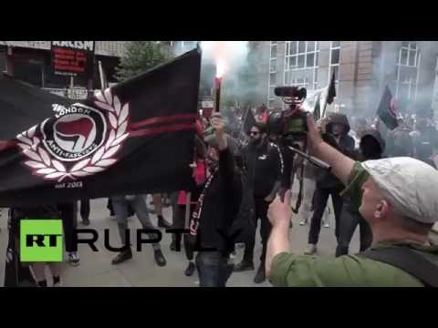 UK: Anti-Brexit protesters march for migrants' rights in London