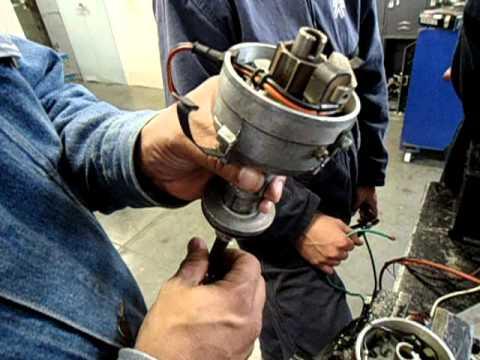 Distribuidor de encendido electr ónico y sus partes