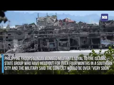 Army says battle for Marawi city to end soon, 1,000 dead