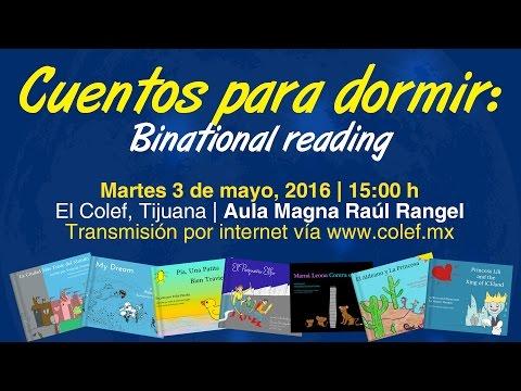 Cuentos para dormir: Lectura Binacional | Presentación de Libro