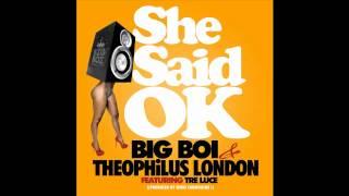Watch Big Boi She Said Ok video