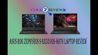 Asus ROG Zephyrus laptop review