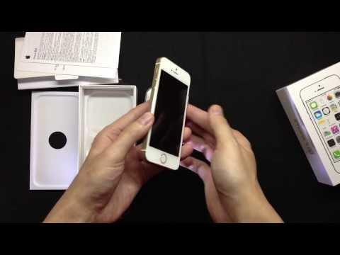 我也是土豪!台灣金色 iPhone 5s 金碧輝煌開箱