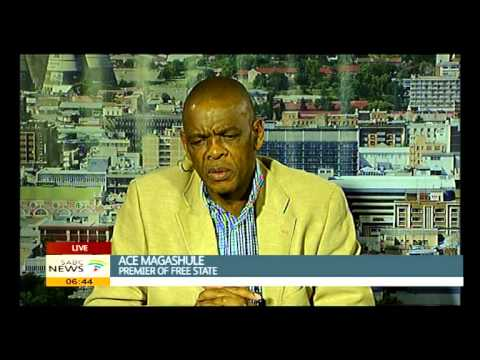 Ace Magashule on his SOPA 2015