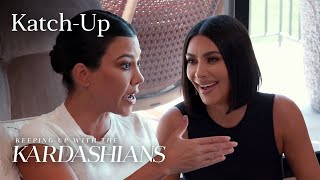 "Kim & Kourtney's Feud Gets Physical: ""KUWTK"" Katch-Up (S18, E1) 