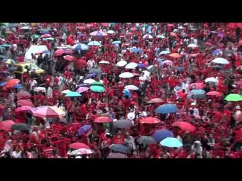 Red Shirts 'Ocean Deep' at Ratchaprasong