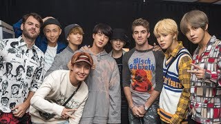 """BTS Performs """"Closer"""" With The Chainsmokers After Interview Controversy"""