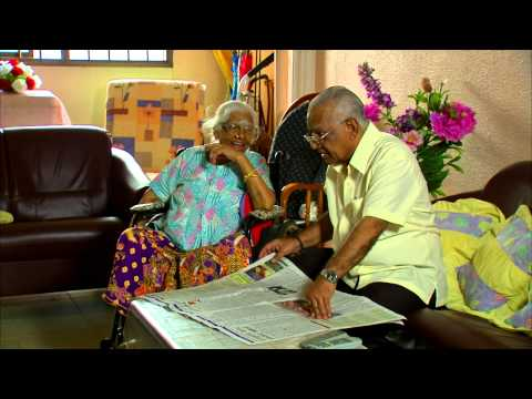 A Retiree Who Takes Care Of His Mother (malay) video