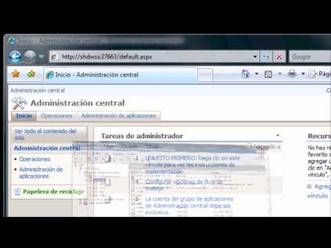 Crear aplicaciones web con Windows Sharepoint