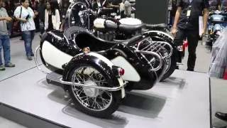 Royal Enfield Sidecar 2017  ที่งาน Motor Expo 2016