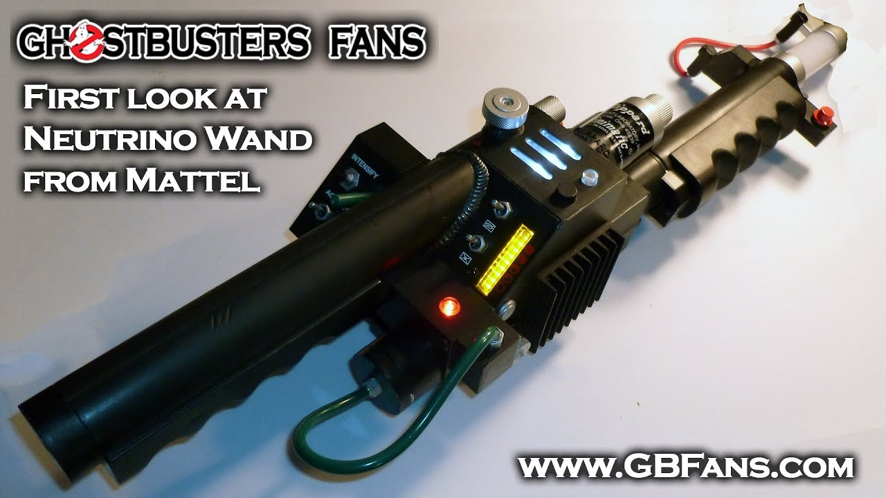 First Look Amp Unboxing Of Mattel S Ghostbusters Neutrino
