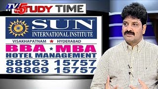 Hotel Management Courses BBA and MBA in Sun International Institute | Study Time