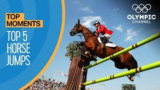 Most Exciting Equestrian Jump Offs At The Olympic Games | Top Moments
