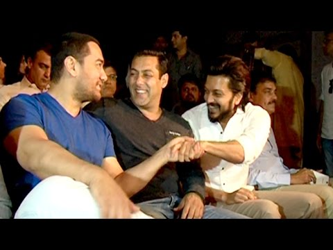 Salman, Aamir, Srk Meet Raj Thackeray To Discuss Green Mumbai Development