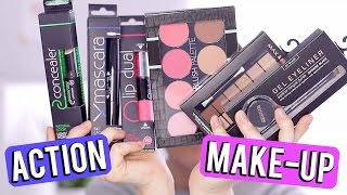 ACTION make-up look ❤ tutorial en mini reviews | Beautygloss