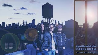 Alex Skolnick trio - 新譜「Conundrum」2018年9月7日発売 ライブ映像などを使用したアルバム・ダイジェストを公開 thm Music info Clip