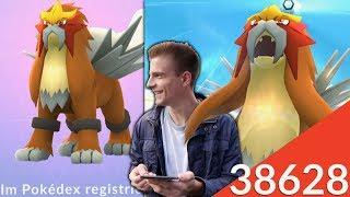 Erster Entei Raid - fast 100% IV?! Entei Fangtechnik & Konter | Pokémon GO
