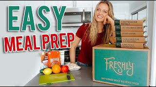 How to Meal Prep for Beginners // Freshly Review