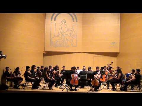 Concierto F III, n.2 P411 para dos violonchellos y orquesta. A. Vivaldi. 2º Mov.