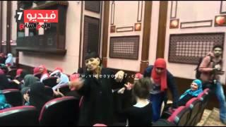 """أمهات يرقصن على أغنية """"ست الحبايب"""" بإحتفالية جمعية رسالة"""