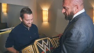 Triple H visits London police officer wounded in London Bridge attack
