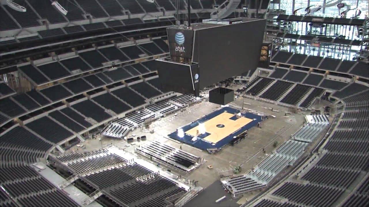 Cowboys Stadium - Conversion Timelapse - YouTube