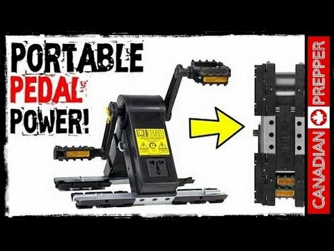 Portable Pedal Power Generator! K-Tor PowerBox    Canadian Prepper