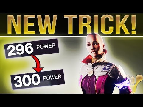 Destiny 2. Stuck at 304 Power? How To Get 300 Power Gear Easy. New Trick Found!!