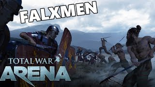 Total War ARENA - Carving Up With Barbarian Falxmen!