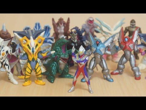 ウルトラマンティガ ティガモンスター 超全集 レビュー  Ultraman Tiga Monster Complete Figure video