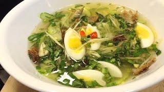 HOW TO: Cambodian Outside of the Pot Soup | វិធីធ្វើម្ហូប- ស្ងោរជ្រក់ក្រៅឆ្នាំង