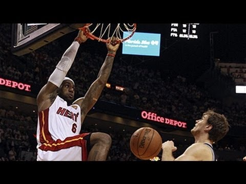 LeBron James' NBA Finals Game 6 Triple-Double!