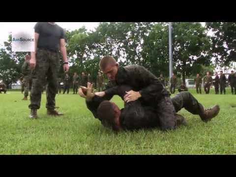 U.S. Marines & Australian Army - Grappling Practice