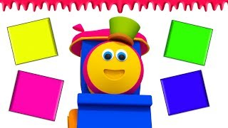Colors for Kids | ABC Numbers Shapes & More Bob The Train Learning Videos |