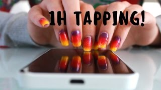 ASMR 1H OF TAPPING NO TALKING! more than 1 hour!