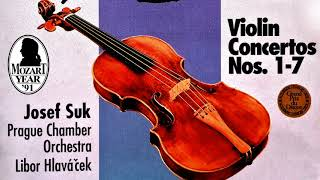Download Lagu Mozart - The Violin Concertos n°1,2,3,4,5,6,7 (recording of the Century : Josef Suk/Hlaváček) Gratis STAFABAND