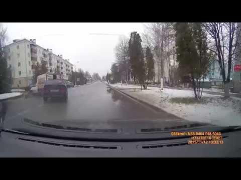 Авария Зеленодольск ул.Ленина 12.11.2015г