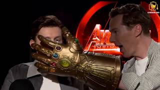 Infinity War Cast Goes Crazy with Thanos
