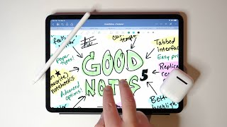 GoodNotes vs Notability - Best iPad Notes App For Apple Pencil Users