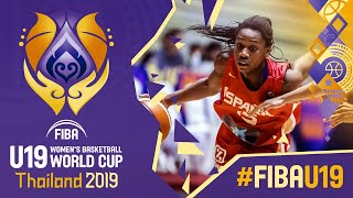 Korea v Spain - Full Game - FIBA U19 Women's Basketball World Cup 2019