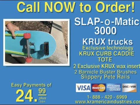 INTRODUCING THE KRUX SLAP-O-MATIC 3000 | Krux Trucks