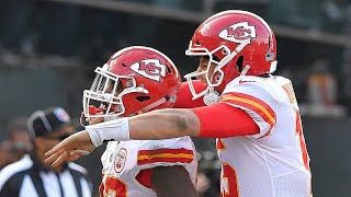 Chiefs QB Patrick Mahomes was focused on beating Raiders after release of Kareem Hunt