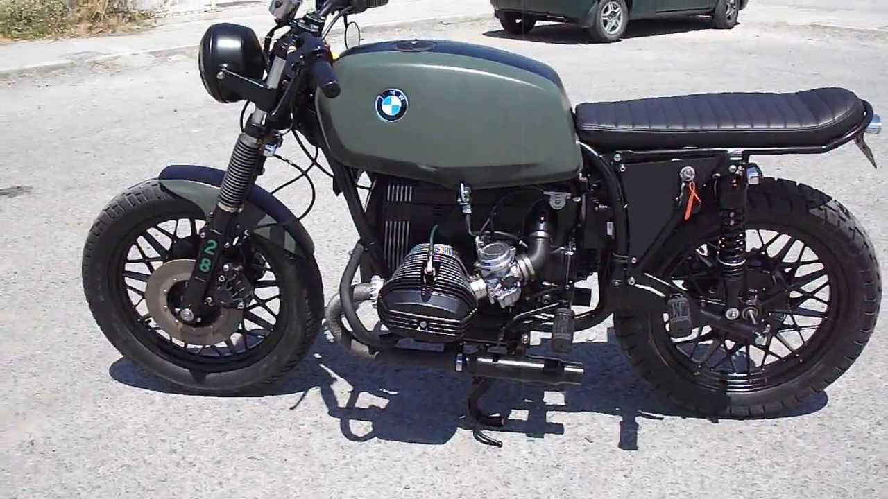 bmw r45 1978 860cc fully restored and customized youtube. Black Bedroom Furniture Sets. Home Design Ideas