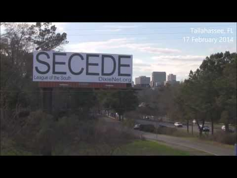 'Secede' Billboard in Tallahassee, Florida